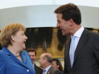 rutte Merkel paesi del Nord Europa