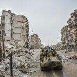 Aleppo devastata dalla guerra (Fonte: Wikipedia)