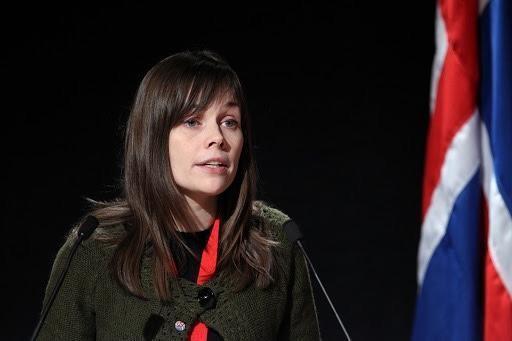 Katrin Jakobsdóttir (Fonte: Wikipedia)