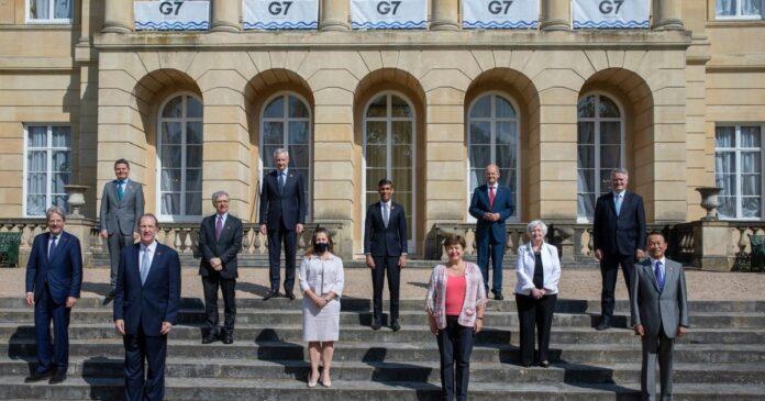 g7 tassa minima globale